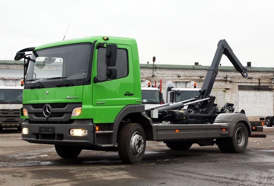 грузовые мерседес бенц фото